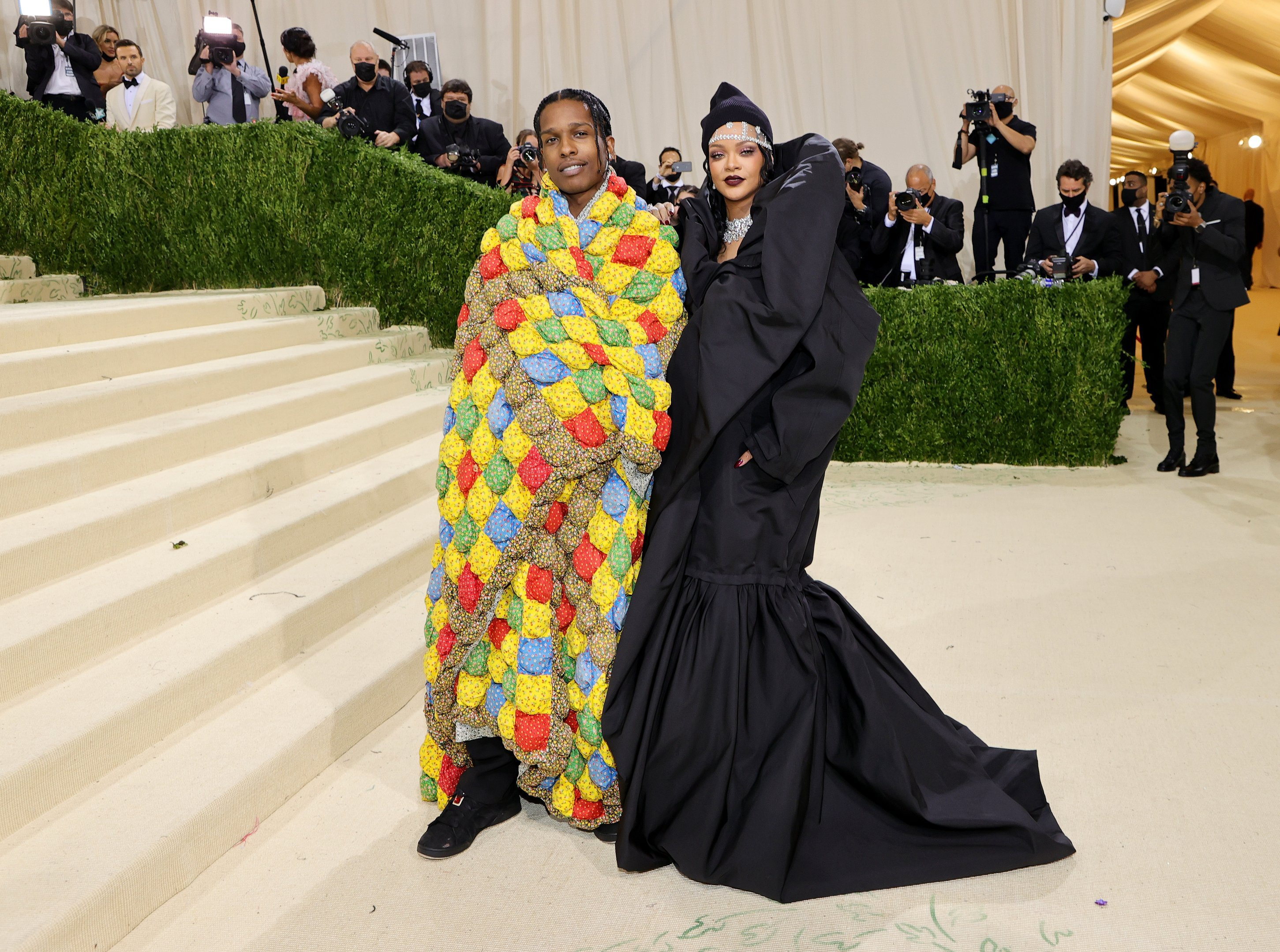 GettyImages 1340157962 Lewis Hamilton bought a table for black designers to attend the Met Gala