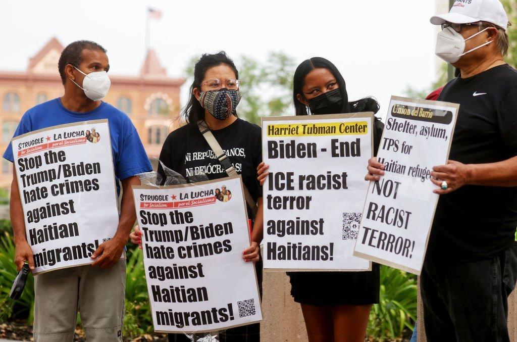 GettyImages 1342162194 Deportation of Haitians intensifies criticism of Biden