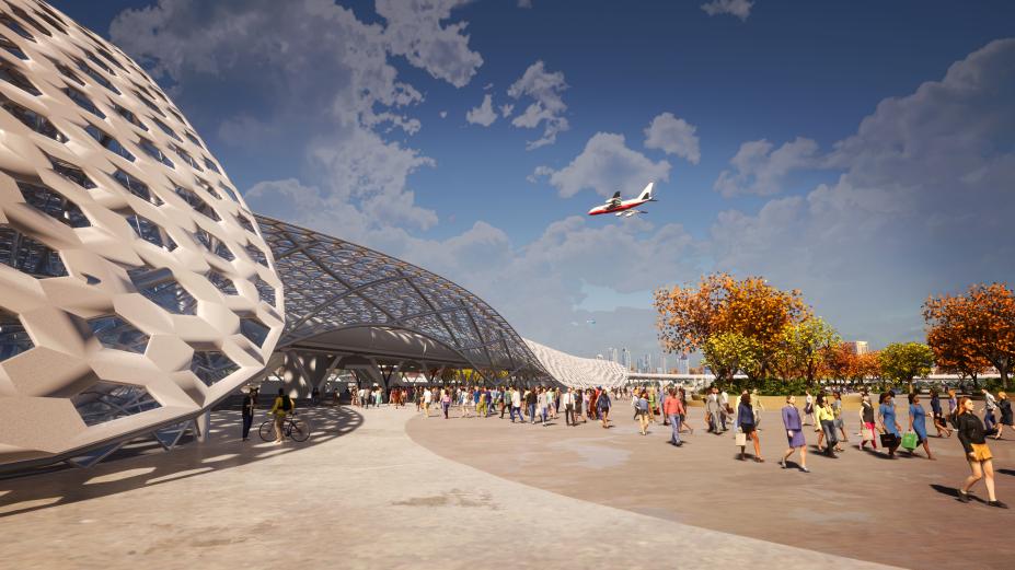 HyperloopTT DesignEstacaoPortoAlegre 05 Hyperloop: 'Transport of the future' arrives in Brazil; but is it feasible?