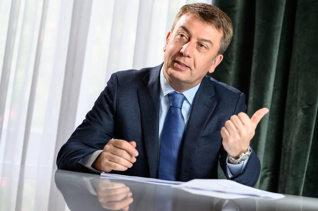 O francês Stéphane Monier, CIO (executivo-chefe de Investimentos) do banco suíço Lombard Odier | Foto: Lombard Odier/Divulgação