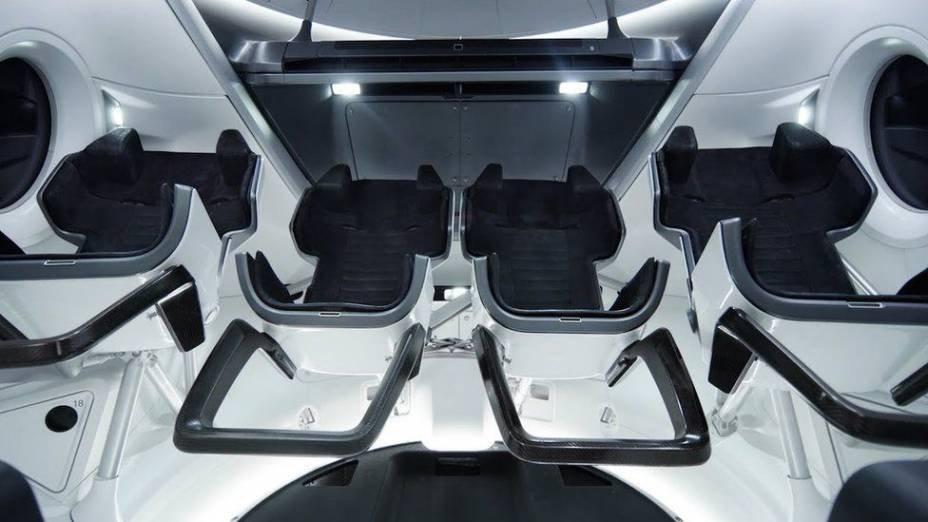 Foam seats that mold around the crew's body