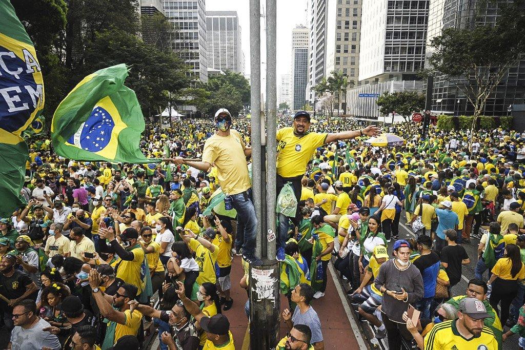 Protesto 7 de setembro; Bolsonaro; protesto liberdade