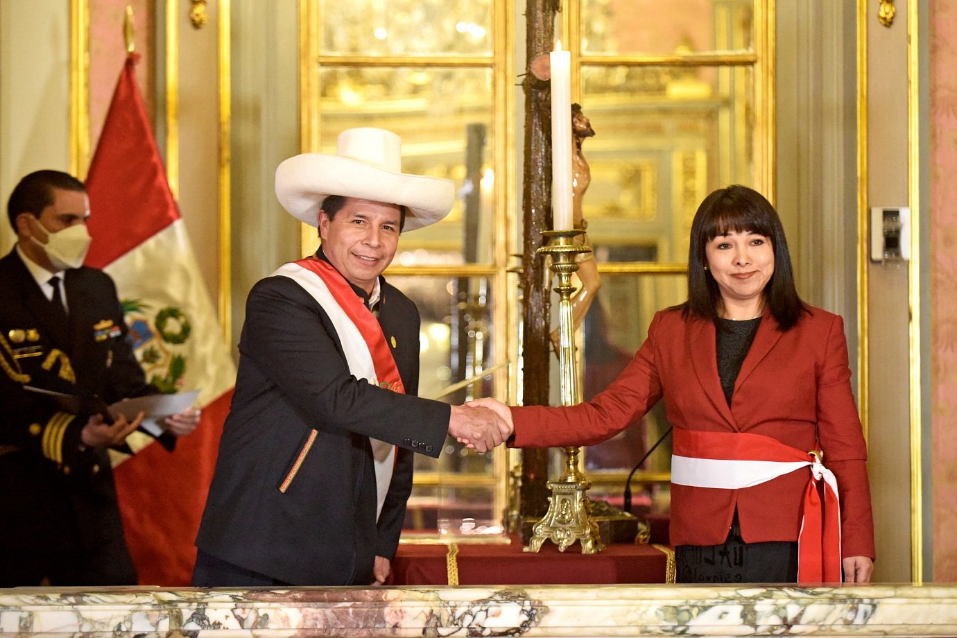 Partido marxista do Peru rompe com governo de presidente Castillo