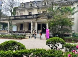 Casa das Rosas na avenida Paulista