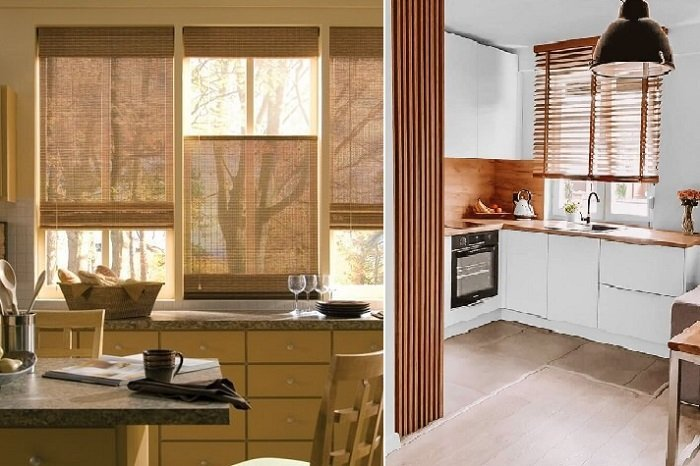 Kitchen Design e Viva Decora Curtains or blinds? What is the best solution for your home?