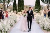 Jennifer Gates e Nayel Nassar se casaram em outubro de 2021