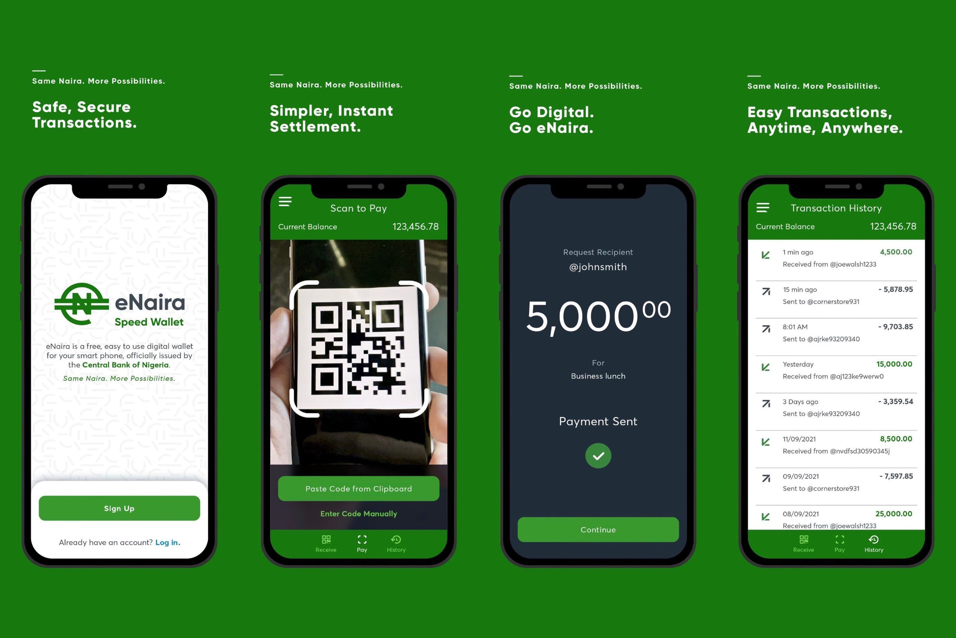 Nigéria lança moeda digital eNaira e é o 1º país africano a ter sua CBDC