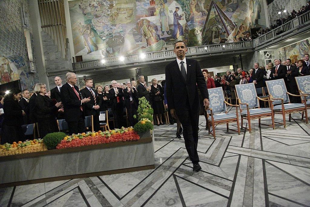 obama Obama, Malala, European Union: See the latest Nobel Peace Prize winners